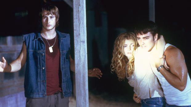 Um die bereits infizierte Megan (Izabella Miko, M.) zu retten, nehmen Sean (K...