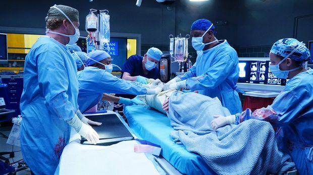 Grey's Anatomy - Geben alles, um ihren Patienten zu retten: Stephanie (Jerrik...