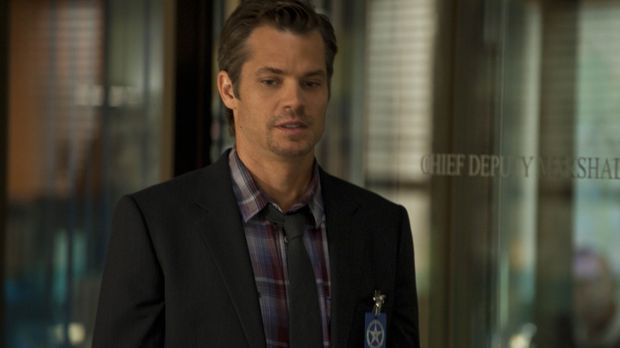 Ein flüchtiger Strafgefangener macht  Raylan Givens (Timothy Olyphant) das Le...