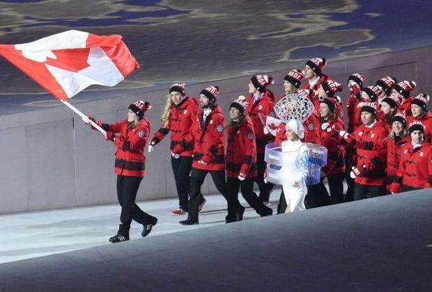 Fahnenträgerin für Kanada: Hayley Wickenheiser