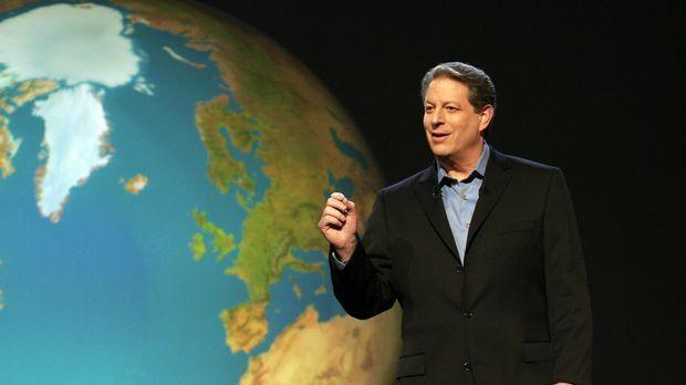 Al Gore sorgt mit der oscarprämierten Dokumentation über die Klimakatastrophe...