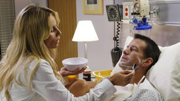 Nachdem Edie (Nicolette Sheridan, l.) entdeckt hat, dass Mike (James Denton,...