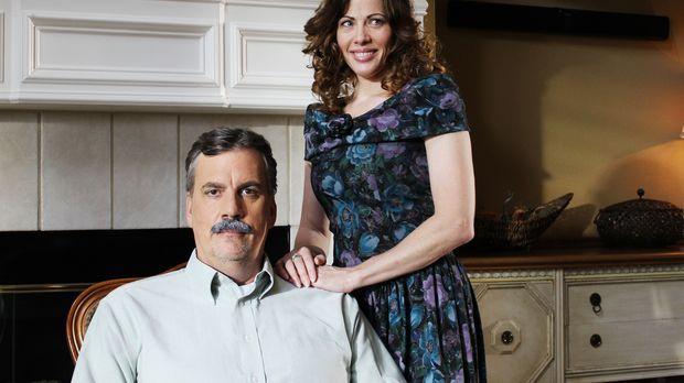 Polizist Drew Peterson (l.) und seine Frau Kathleen Savio (r.): Kathleen wird...