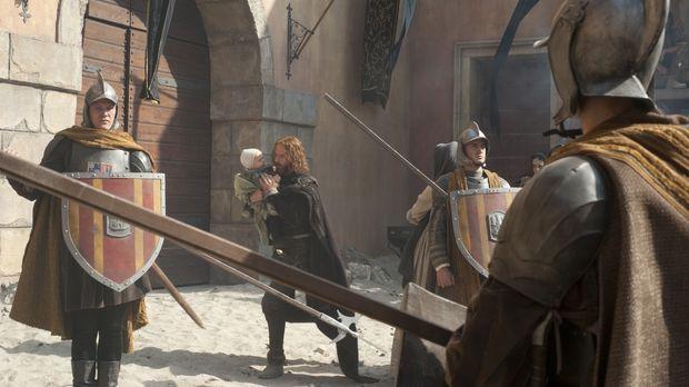Nach dem Tod von König Ferdinand II. von Neapel schickt Lucretia ihren Gehilf...