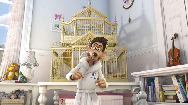 Luxusmaus Roddy St. James lebt in einem goldenen Käfig. Als Haustier einer re...