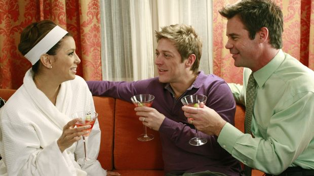 Als Celia die Windpocken bekommt, muss Gaby (Eva Longoria, l.) auf Distanz zu...