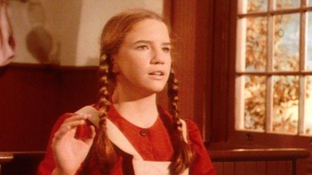 Laura (Melissa Gilbert) hat große Schwierigkeiten, die Prüfungsfragen zu bean...
