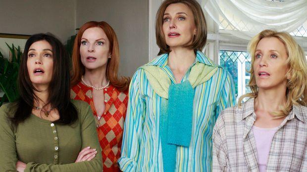 Rückblick in vergangene Zeiten: Susan (Teri Hatcher, l.), Bree (Marcia Cross,...