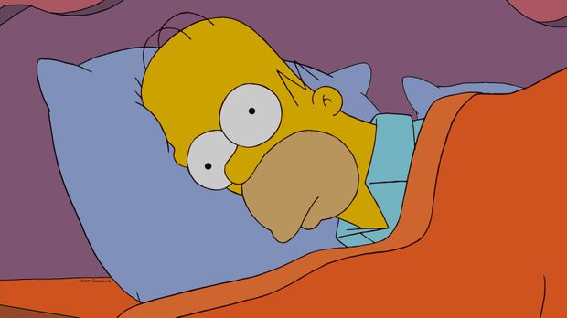 Hat ein nasses Problem: Homer Simpson ... © und TM Twentieth Century Fox Film...