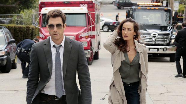 Beth (Maggie Q, r.), Chefin von TAU, der Stalking-Sondereinheit des LAPD, erm...