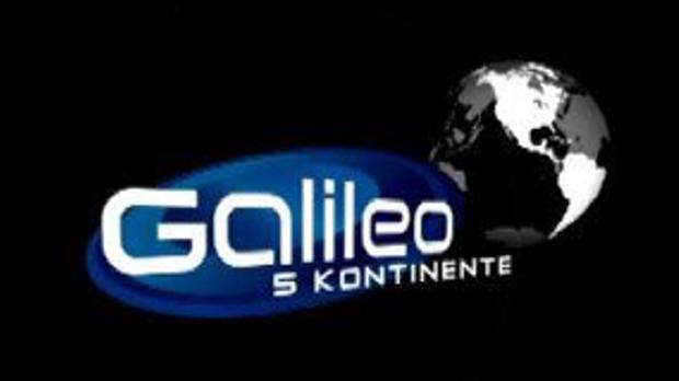 Galileo 5 Tage, 5 Kontinente Logo