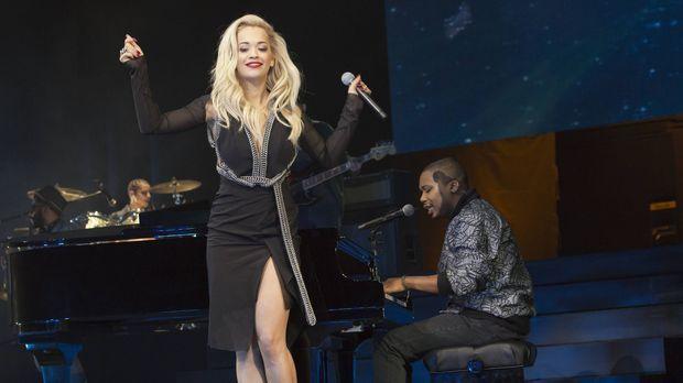 Bei Lucious' Mega-Jubiläumskonzert tritt auch Superstar Rita Ora (Rita Ora) a...
