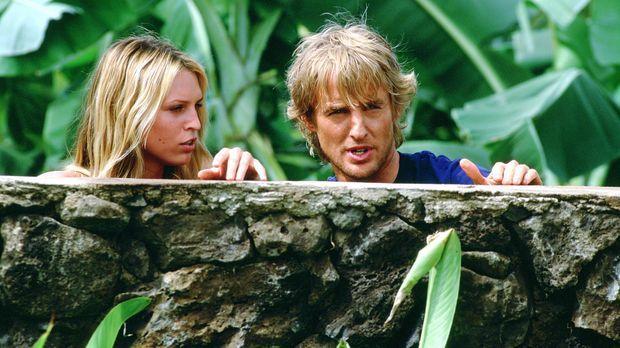 Als Nancy (Sara Foster, l.) in Jacks (Owen Wilson, r.) Leben tritt, ist es mi...