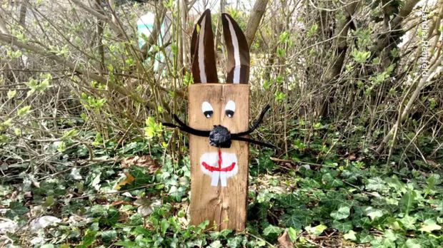 Osterhasen aus Holz basteln: Ideen und Tipps  SAT.1 Ratgeber