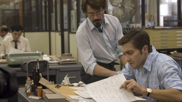 Redakteur Avery (Robert Downey, l.) und Karikaturist Graysmith (Jake Gyllenha...