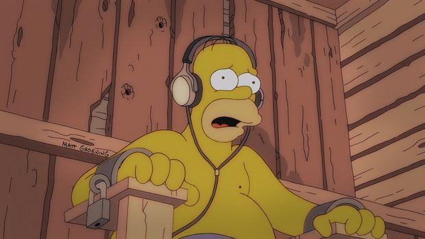 Homer, Lenny und Carl sind auf einen Nuklear-Arbeiter-Kongress eingeladen, de...