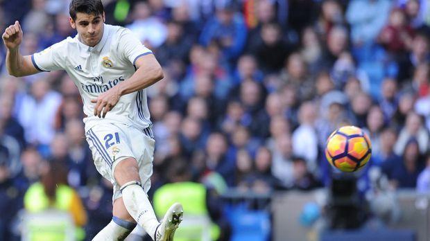 Alvaro Morata (Real Madrid) - Bildquelle: 2016 Getty Images