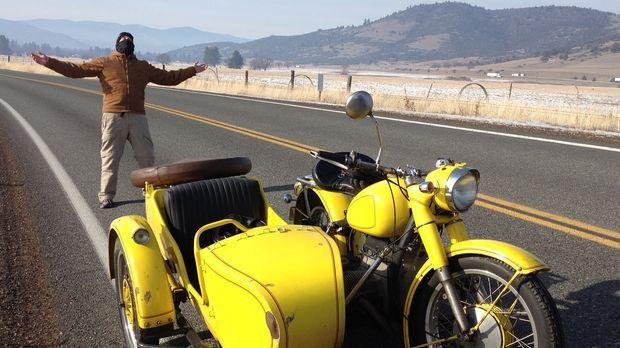 Auf der letzten Tour seiner großen Reise führt der Weg Leon entlang der Pazif...