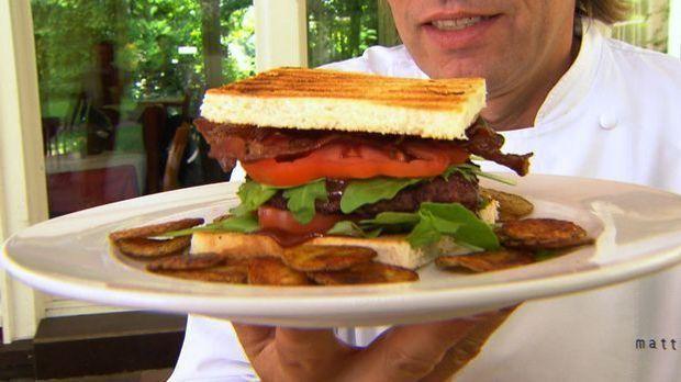 BBQ-Kochduell  Burger Matthias