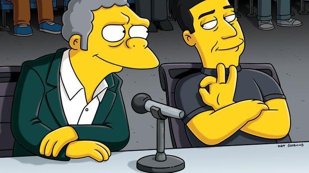 Moe (l.) macht Karriere. Bei einem Hundewettbewerb erweist er sich als witzig...