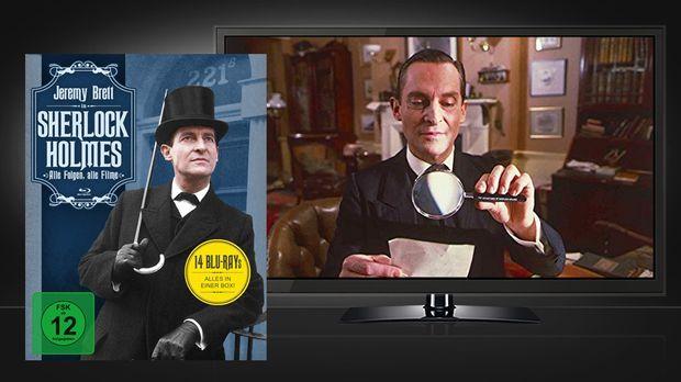 Sherlock Holmes - Alle Folgen, alle Filme - Blu-Ray Box © Koch Media