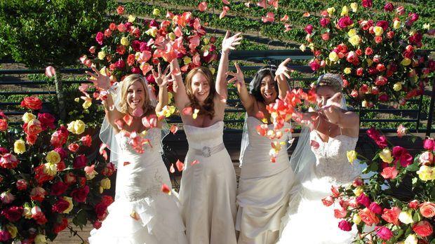 Kämpfen um den Titel und eine atemberaubende Hochzeitsreise: Tanaya (l.), Bec...