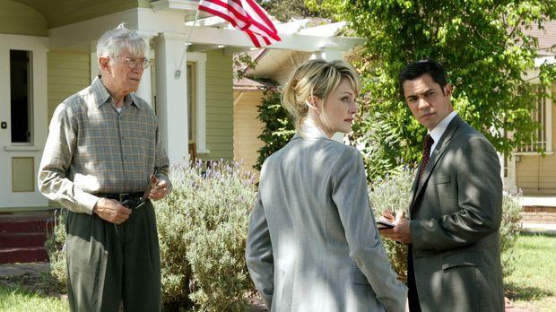Det. Lilly Rush (Kathryn Morris, M.) und ihr Kollege Det. Scott Valens (Danny...