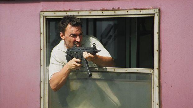 Kampferprobt: Der frühere CIA-Agent Nick Carlton (Todd Jensen) hat die Seiten...