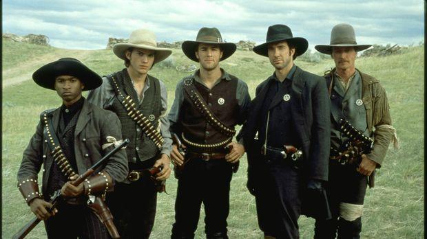 In der Nachbürgerkriegszeit schickt die Regierung in Texas junge Männer los,...