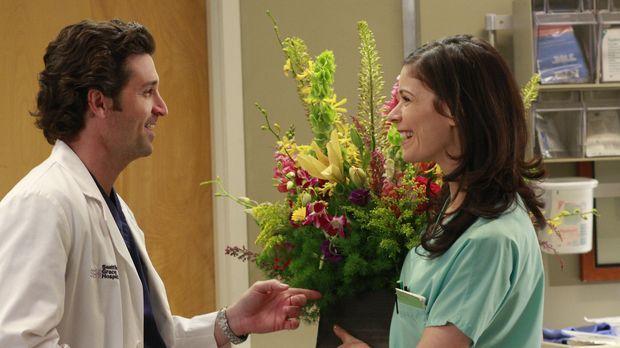 Während Alex, Izzie, Cristina und Meredith inmitten eines Wettstreits stecken...