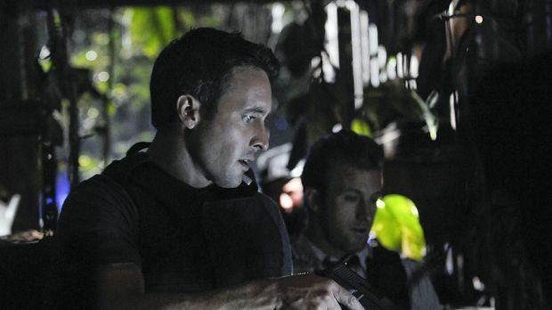 Auf der Spur eines Serienkillers: Steve (Alex O'Loughlin, l.) und Danny (Scot...