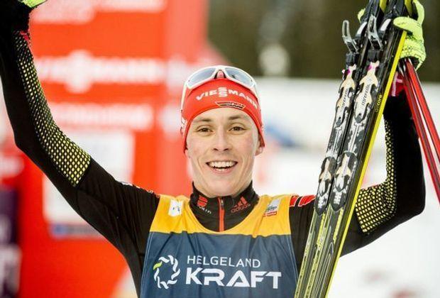 Auch in Val die Fiemme ist Eric Frenzel unbesiegbar